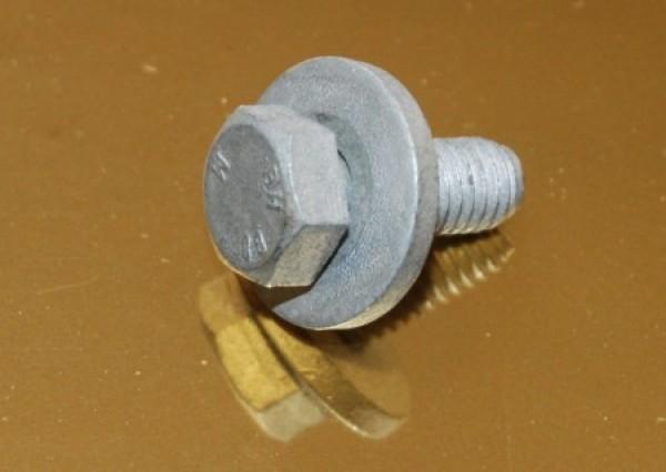 Śruba maszynowa z podkładką