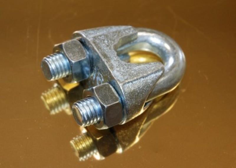 Zaciski do lin kabłąkowych DIN741